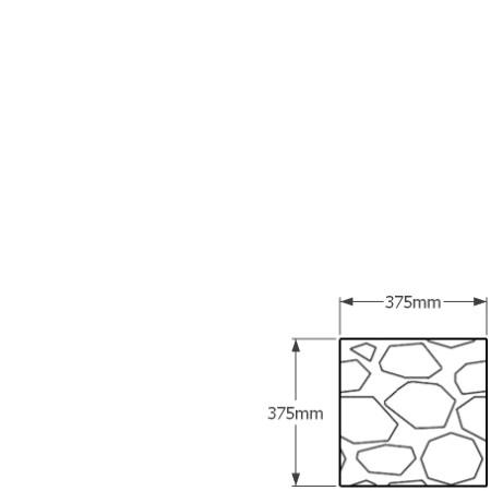 375mm square gabion