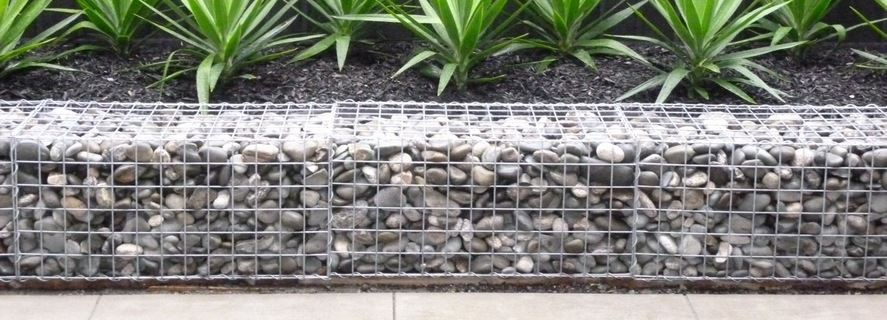 Gabion Baskets Welded Mesh Rock Stone Walls Gabion1 Nz