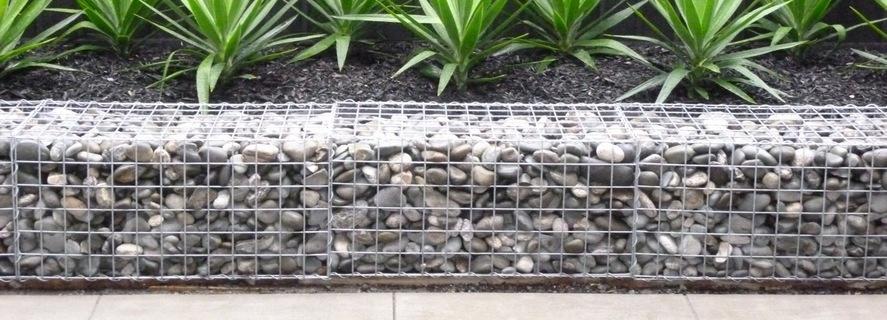 Gabion Baskets Welded Mesh Rock Stone Walls Gabion1 Nz
