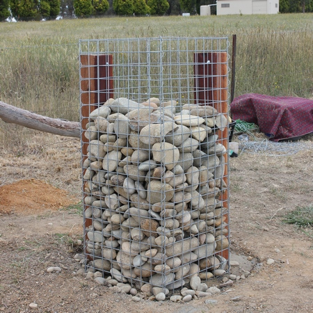 gabion column