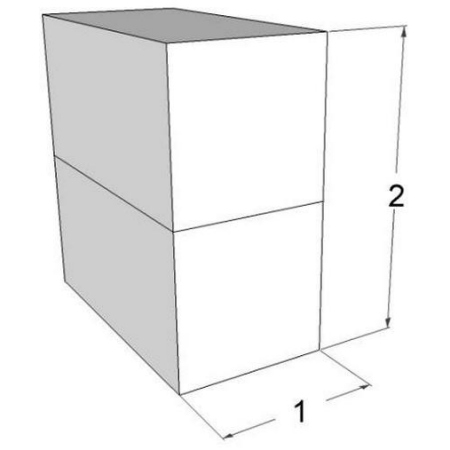 stable gabion wall ratio