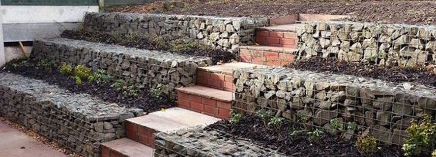 Gabion Retaining Walls Stone Wall Ideas Gabion1 Nz