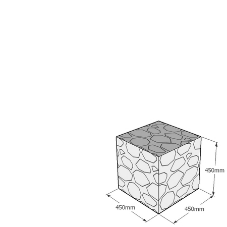 450mm cube gabion
