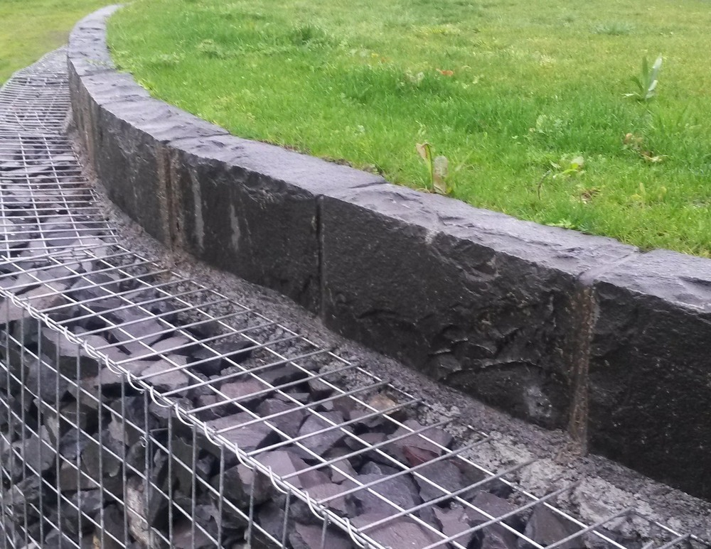 gabion cement mortar
