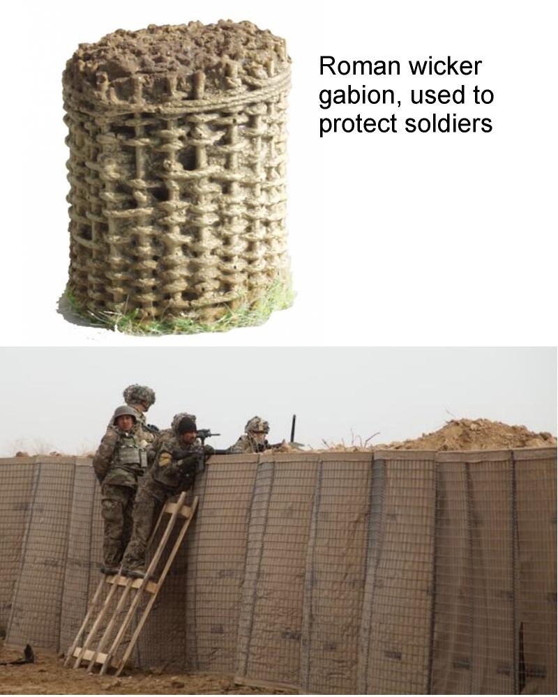 military gabion use