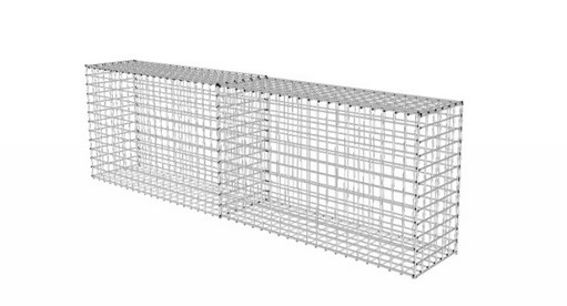 gabion shared end panels