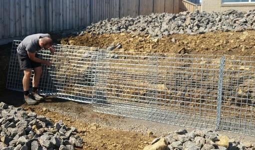 gabions-prior to assembly