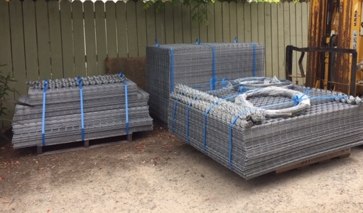 gabion orders ready for dispatch